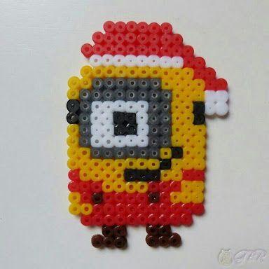 「kerst minion strijkkralen」の画像検索結果