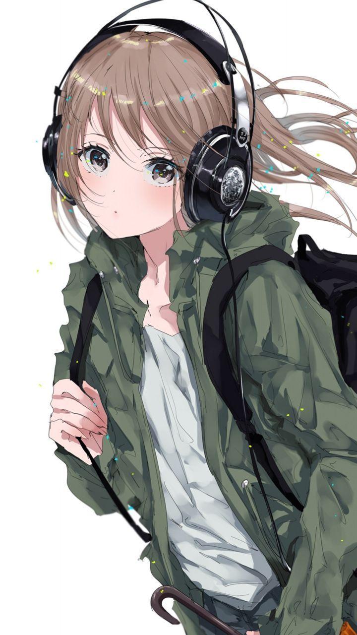 Pin Di Iphone Wallpaper Anime headphones iphone wallpaper