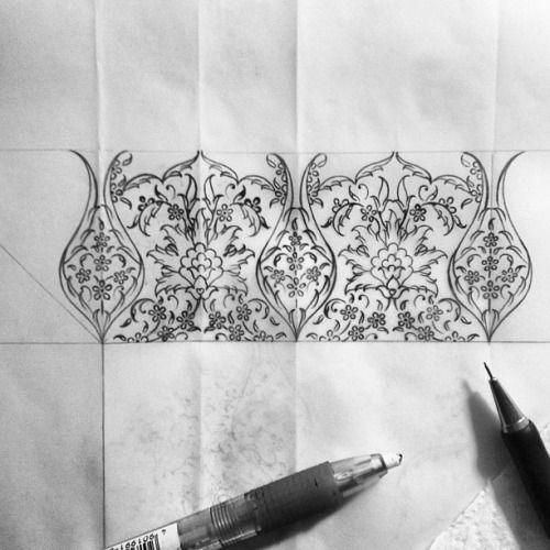 #design #working #mywork #drawing #draw #illumination #blackandwhite #istanbul #turkey