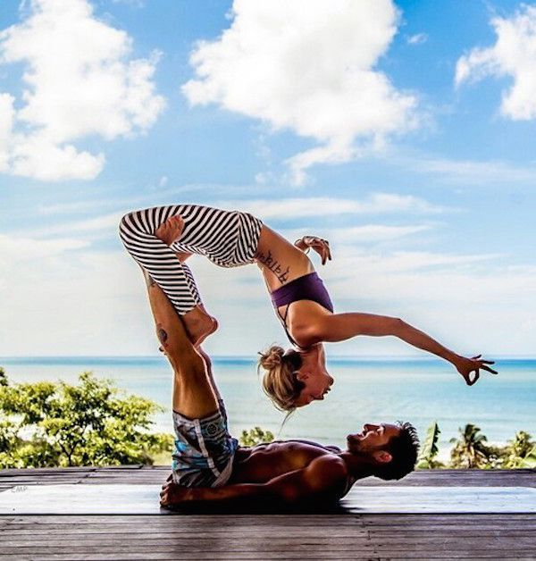 Awesome!! 25 AcroYoga Couples Who Prove Nothing Is Sexier Than Being Fit Together