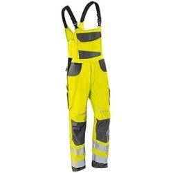 Jobman Technical Bundhose Star Hi-Vis – Damen – Warnschutzhose mit Kniepolstertaschen – gelb/schwarz
