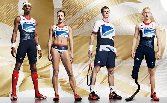 #TeamGB adidas GB Olympic kit by Stella McCartney