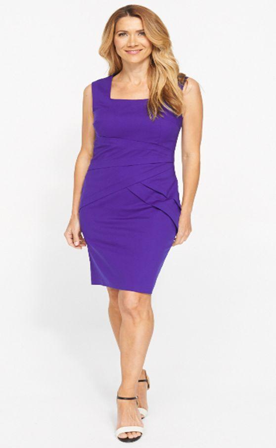 Jacqui E - Violet dress