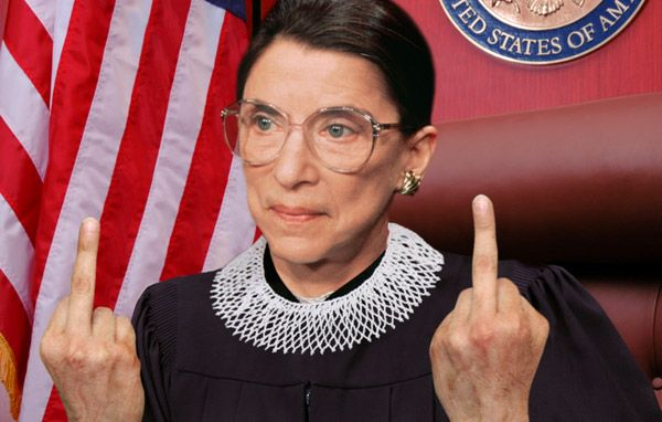 Ruth Bader Ginsburg is a secret badass. lol