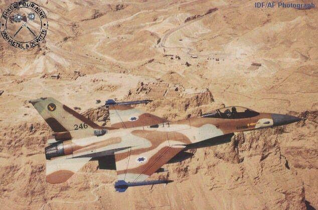 Sa Defenza: Due F16 israeliani, tinti con i colori dell'Arabia...