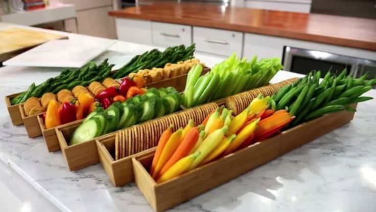 Give your veggie party platter a serious upgrade with an easy, fancy display tip and a delicious two-ingredient dip.