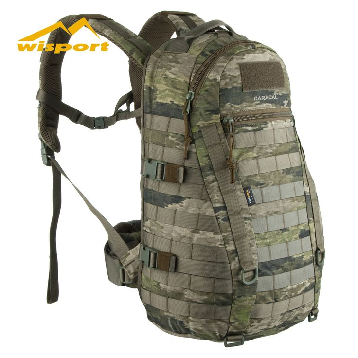The new Wisport Caracal Rucksack in A-TACS iX camo is available now at Military 1st online store. Made of tough 500D Cordura and fully CAMELBAK compatible, it has 25 litres capacity and comes with a waterproof cover stored in a hidden bottom compartment. Only £89.95! We offer free UK delivery and competitive overseas shipping rates.