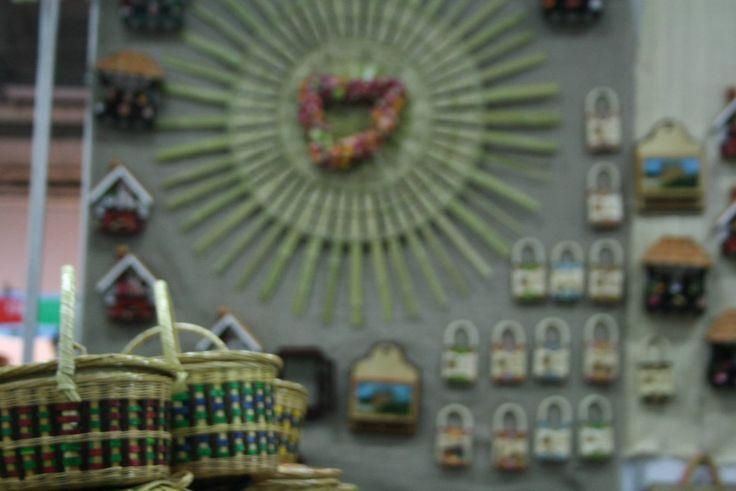 Ramiriquí exhibiendo sus hermosas artesanías en Boyacá en Corferias.