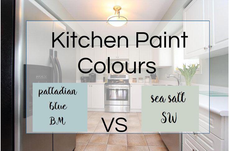 Best Kitchen Paint Colour #seasalt #SW #DuluxPaints