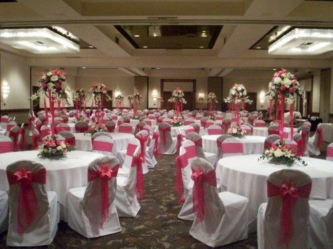fuschia wedding theme   Photo Gallery - Party Risers ...