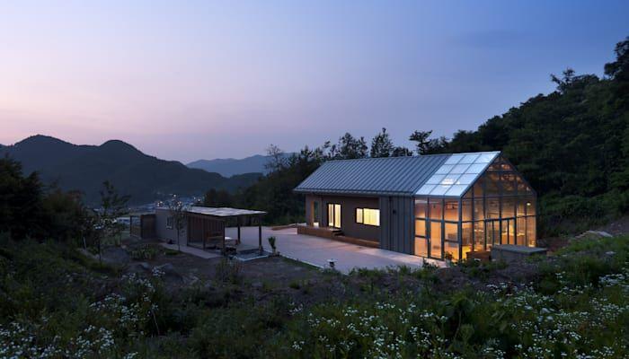 설계 및 시공 포함 7 600만 원으로 아늑하고 포근한 집 짓기 호미파이 Homify 작은 집 집 짓기 건축 디자인