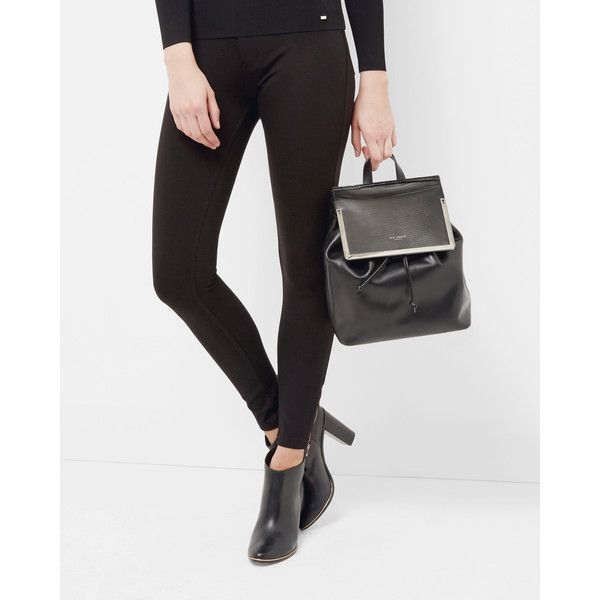 Ted Baker Skinny jeggings ($185) ❤ liked on Polyvore featuring pants, leggings, black, jeggings leggings, metallic leggings, skinny leg pants, skinny fit pants and skinny jeggings