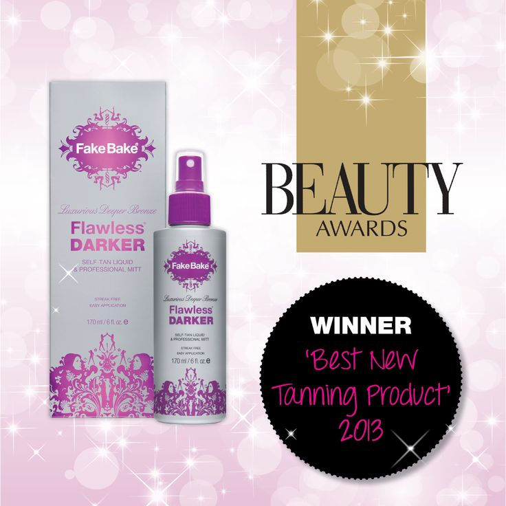 Our Flawless Darker was scooping awards within weeks of its launch!