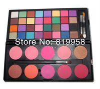 Envío gratis !! 42 colores de Sombra de Ojos Mate cosméticos Establece colorete paleta