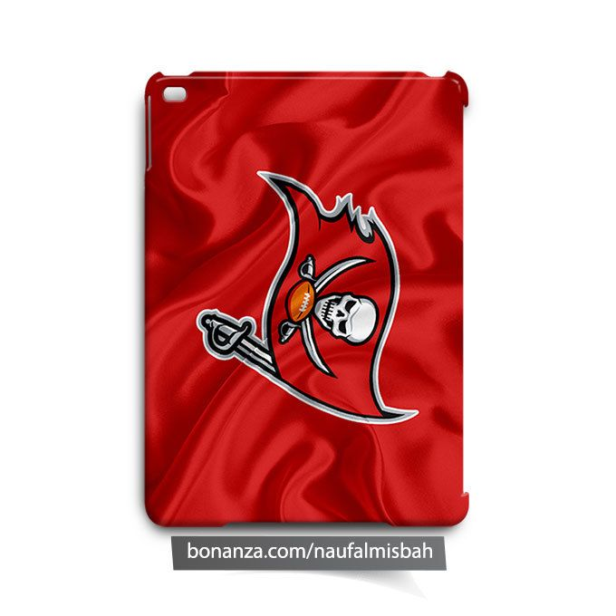 Tampa Bay Buccaneers Ruffles Silk iPad Air Mini 2 3 4 Case Cover