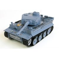 Tanque RC 1/16 German Tiger (Airsoft). PVP - 109€ #RCtecnic #tanques #IIWorldWar #radiocontrol #coleccionistas