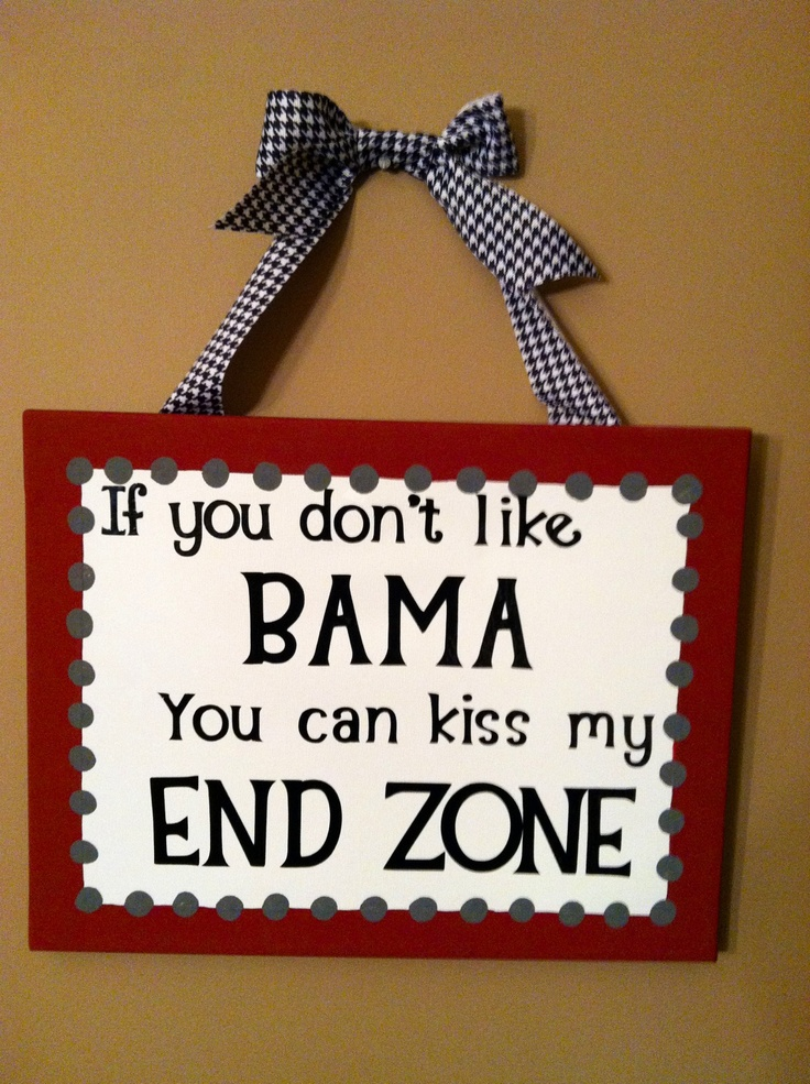 Alabama Canvas; I wanna make one.