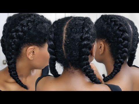 Hey Guys, NOT Boxer Braids… these are actually called Cornrows, thanks. We're doing two easy cornrow braids today! In clear and easy steps that are perfect for beginners, I'll show you how to cornrow