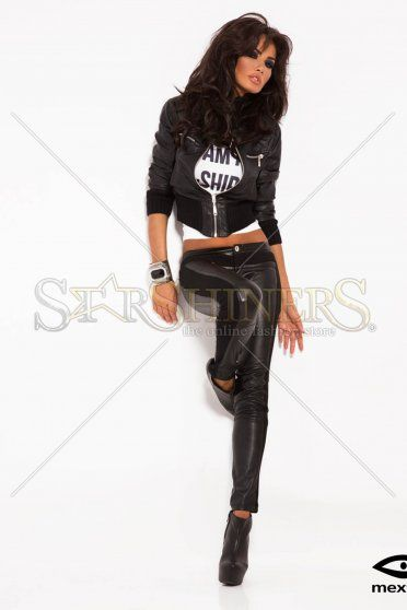 Mexton Rare Legend Black Trousers