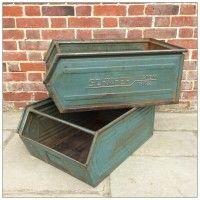 NEW | Factory Storage Box | mayflyvintage.co.uk | Warehouse Home Design Magazine