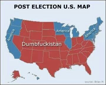 Post 2014 Mid-term election results.  West Coast and New England look like the most likely places to live free...