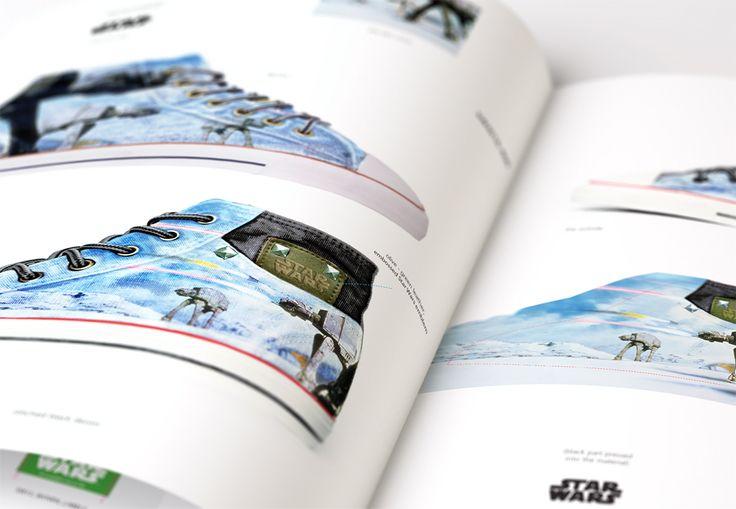 Graphasel Design Studio - client: Playersroom - Star Wars cipő kollekció, arculat, csomagolás, print, termék tervezés, arculat, csomagolás, print, Grafikai Stúdió - Budapest, arculattervezés, grafikai tervezés, garfikus, graphic design