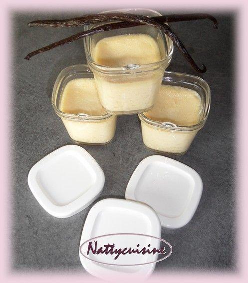 crème au oeufs vanille - Le blog de nattycuisine.over-blog.com
