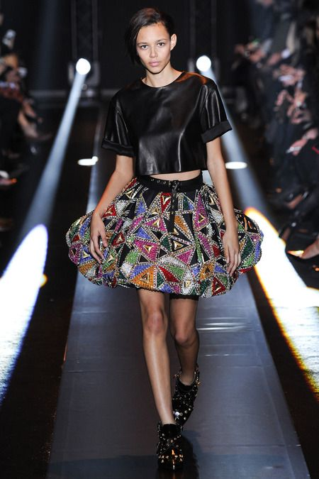 Skirt. Fausto Puglisi. Fall 2014