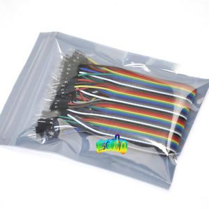 40x-New-1-Pin-2-54-M-M-Dupont-Wire-Color-Breadboard-Connector-Cable-For-Arduino