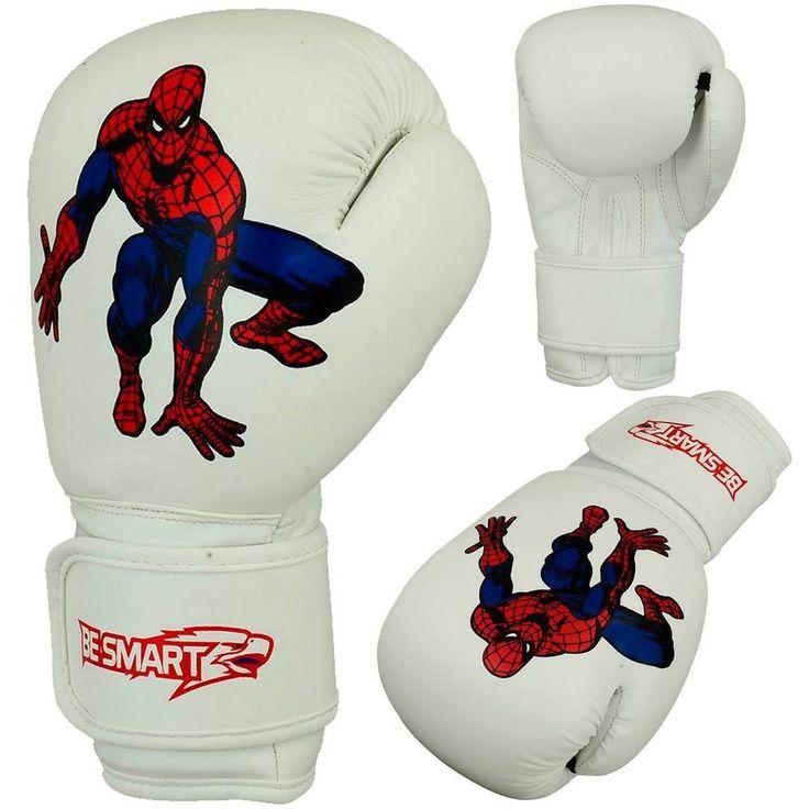 BeSmart Kids Boxing Gloves Junior Mitts 4oz, 6oz Punch Bag Children MMA Youth WH