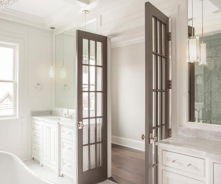 Interior Bathroom Double Doors: 27 Best TV Bedroom Doors Images On Pinterest