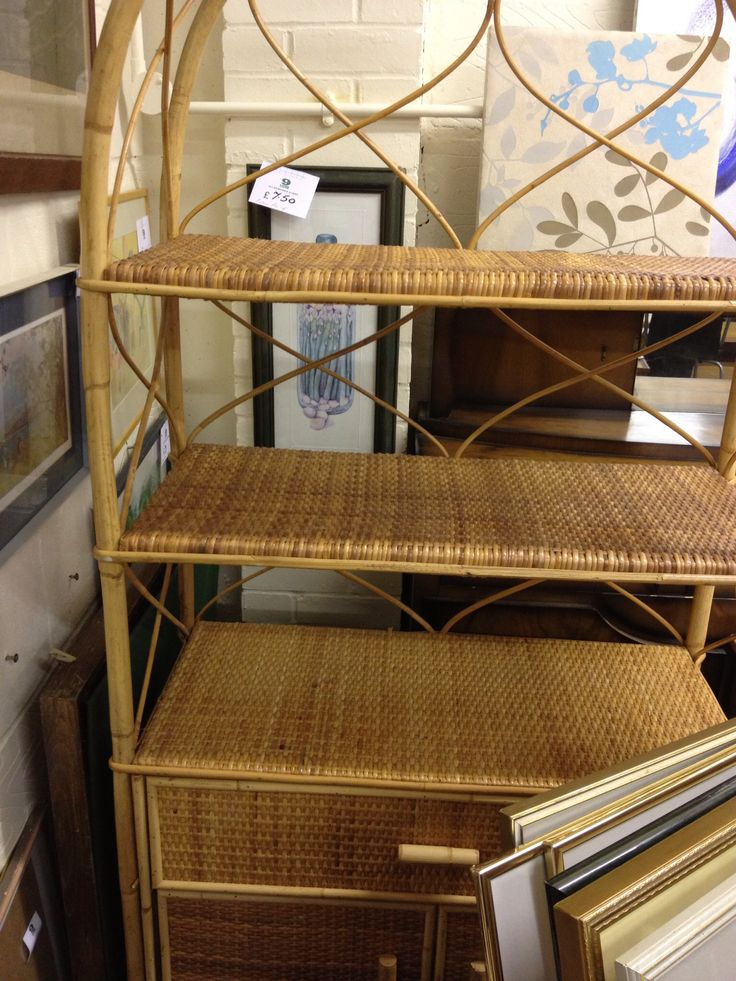 Wicker unit found at a charity furniture shop...a wonderful charity that supports and gives jobs to adults with learning disabilities