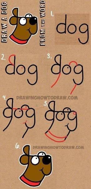 Hunde malen