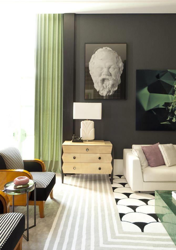 Living Art déco designed by Toninho Noronha | Casa Cor SP .