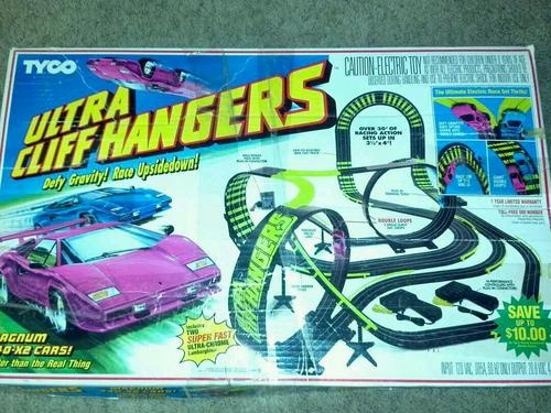 tyco ultra cliff hangers slot car race track set this was one of my first