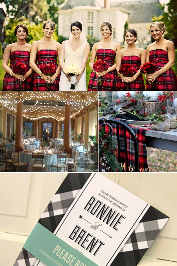 1000  ideas about Plaid Wedding Dress on Pinterest  Flannel ...