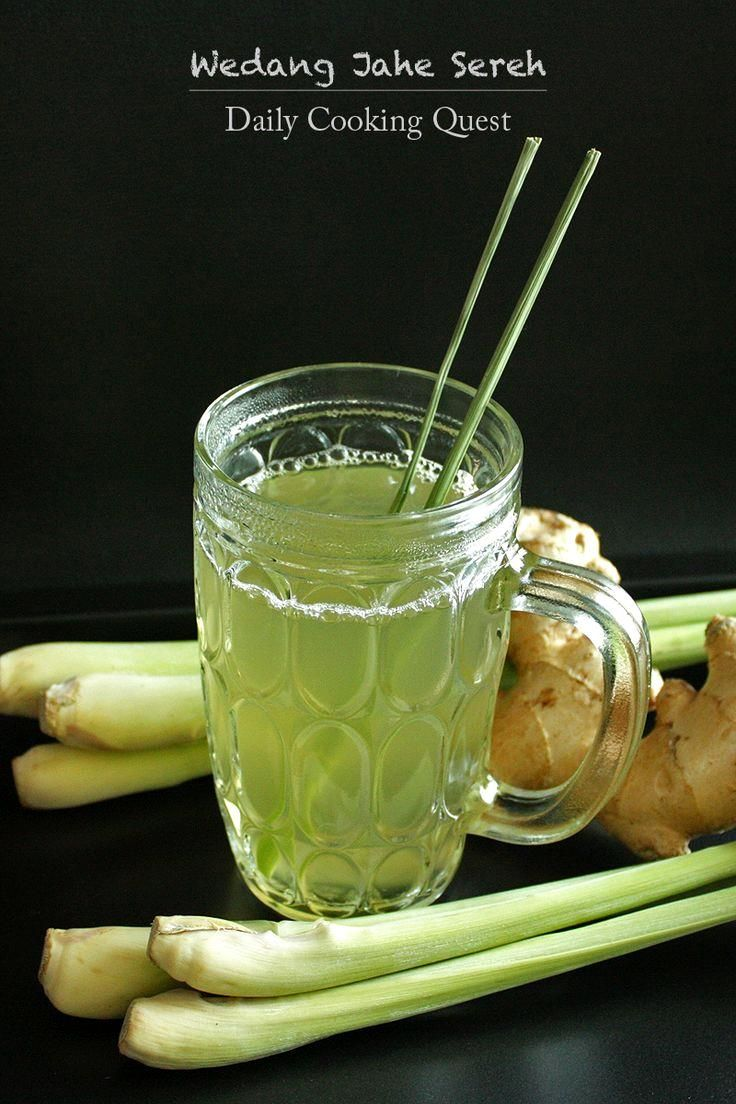Wedang Jahe Sereh – Ginger Lemongrass Tea Recipe at