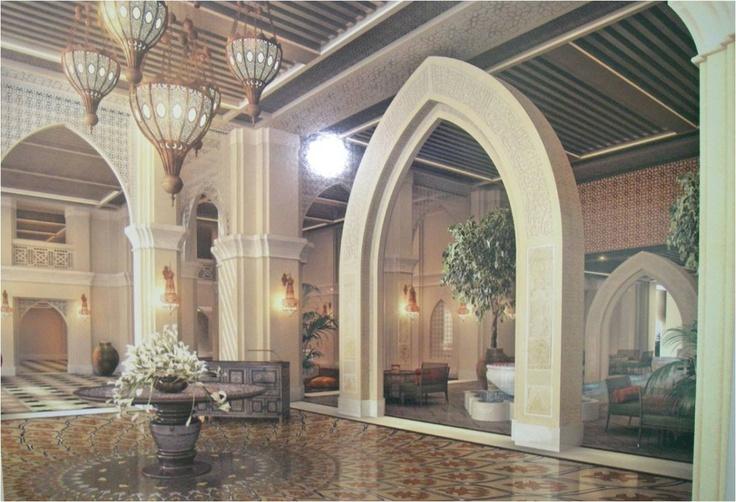 beach hotel lobby design concept salam resort and spa