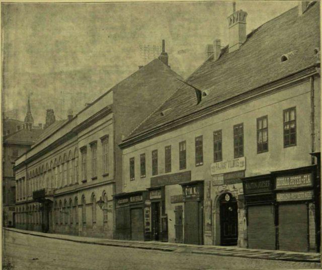 gr. Andrássy ház 1897.okt.10.- Forrás: Vasárnapi Ujság