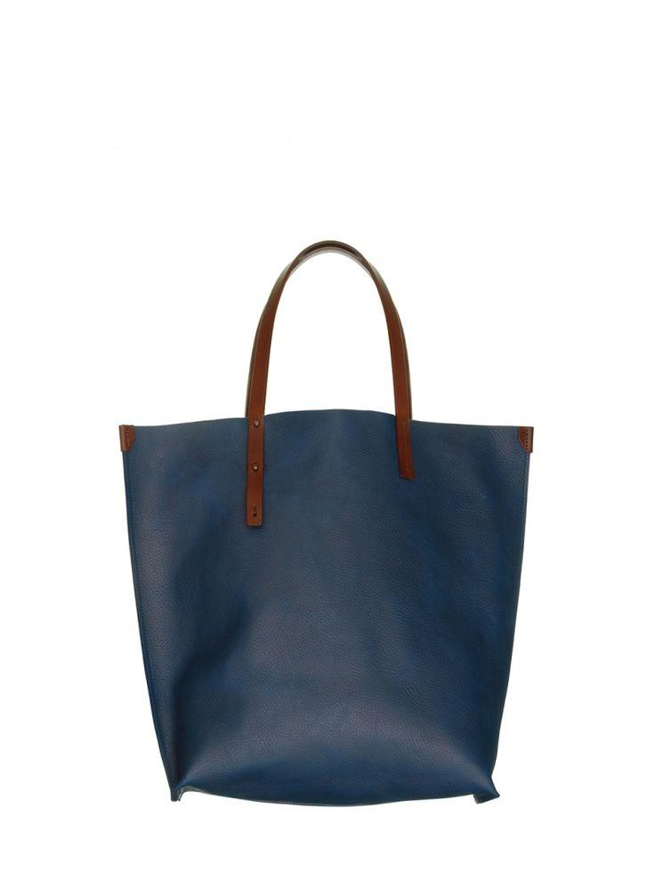 Foldaway Tote - Blue Pearl Spiral by VIDA VIDA qrY1cZB