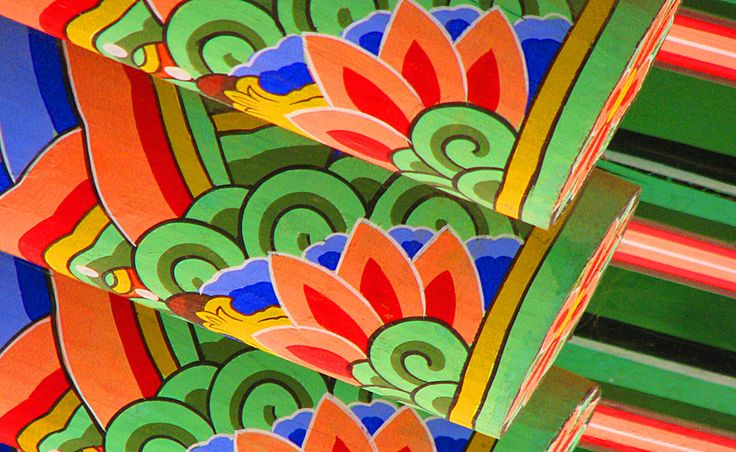 Korean temple detail