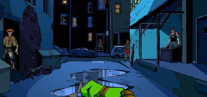 Teenage Mutant Ninja Turtles Shootdown game online