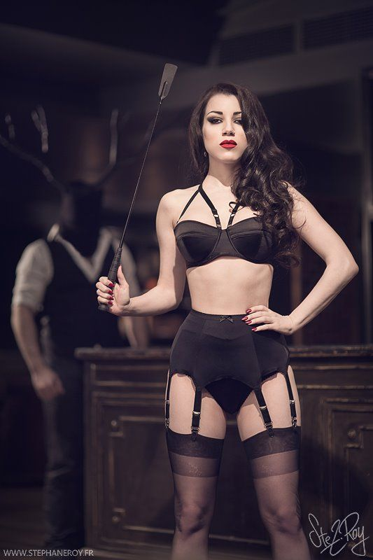 kissmedeadlier: Morgana in Mistress mode, wearing the 6 strap Van Doren belt! http://www.kissmedeadly.co.uk/shop/product/418/van-doren-6-strap-suspender-belt-in-black Photographer: Stéphane Roy PhotographyModels: Kay Morgan, Threnody In Velvet & Patrick Siboni Photographies in the backgroundLingerie by Kiss Me Deadly and L'arsoie CervinLocation: Hotel Pulitzer(Paris 2013) — with Patrick Siboni, Patrick Siboni Photographies, Threnody In Velvet, Patricia Belda Martinez and Stéphane Roy.