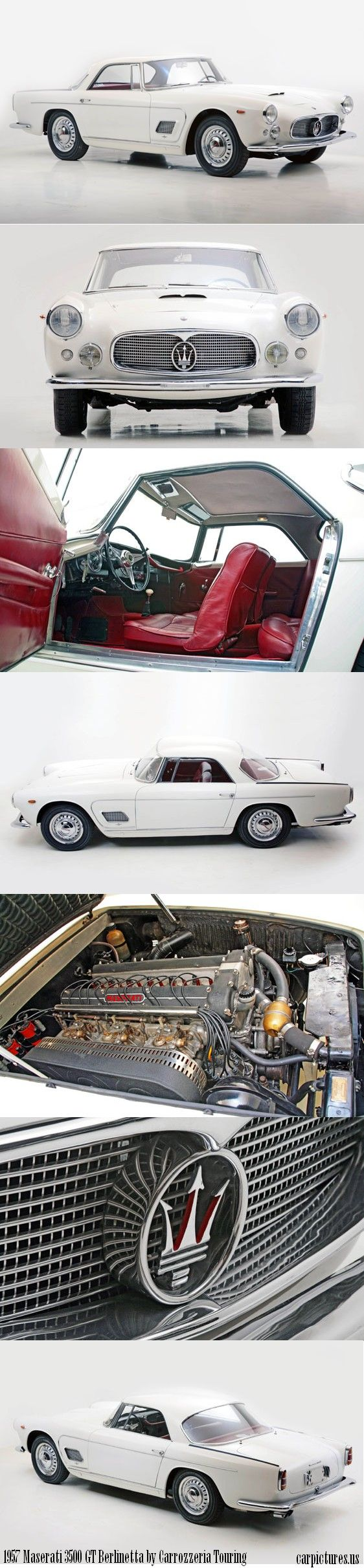 1955 chevy 210 sedan mitula cars - White Cars Da 1957 Maserati 3500 Gt Berlinetta By Carrozzeria Touring