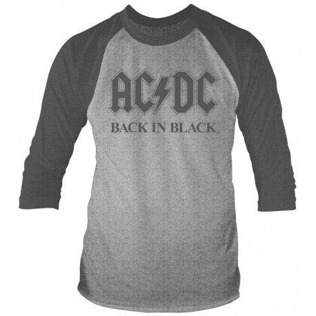 AC/DC: Back In Black (tricou maneca lunga)