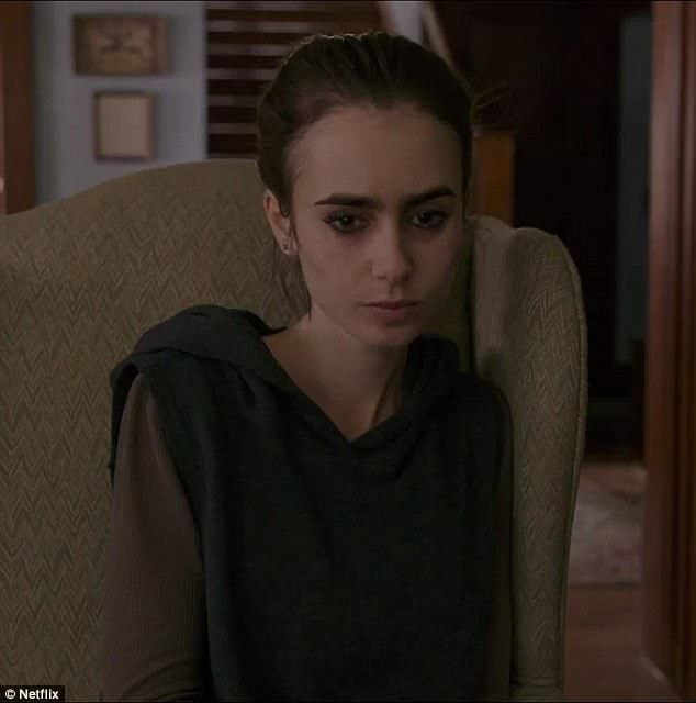 Backlash: Critics are bashing upcoming movie To The Bone, starring Lily Collins (pictured), for its depiction of anorexia and have already branded it the new 13 Reasons Why