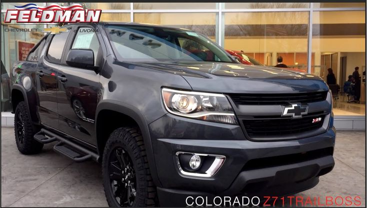 2016 Chevrolet Colorado Z71 Trail Boss Michigan - YouTube