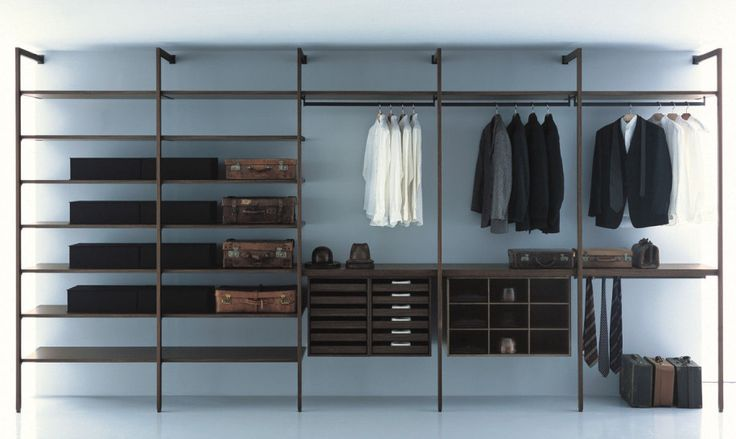 beautiful walk in wardrobe firms neat clothes storage