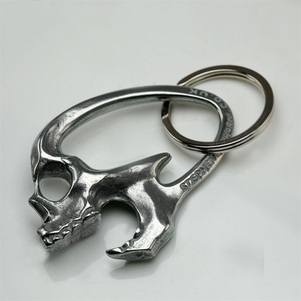 Skull Bottle Opener Keyring