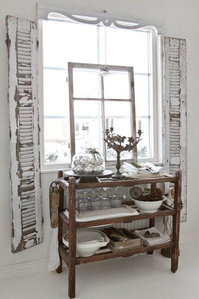 Made In Persbo: Fransk Jul hos Anna-Karin.....gorgeous setup!